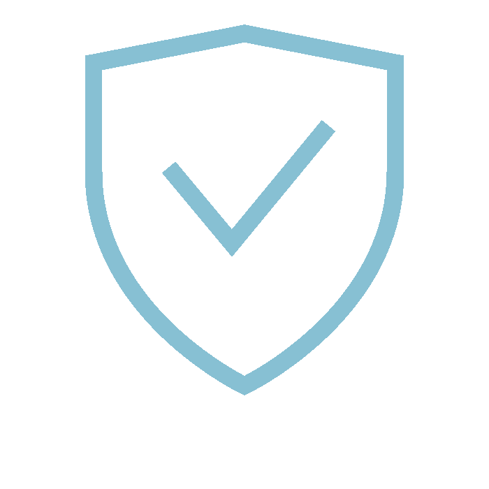 vector image of security verification