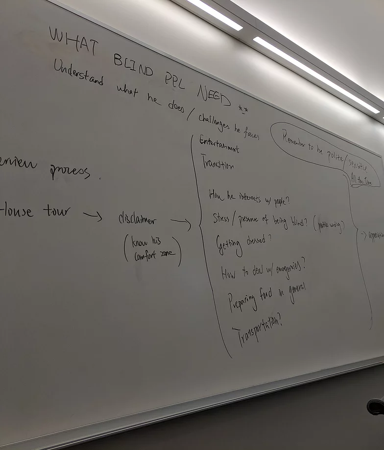 whiteboard brainstorm about Stria